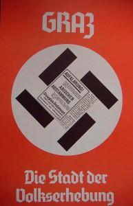 Hans Haacke, Plakatentwurf, Graz 1988
