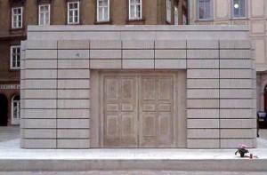 Rachel Whiteread, Holocaust-Mahnmal, Wien 2000