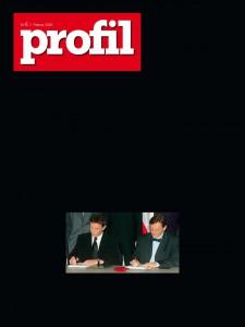 Hans Peter Feldmann, profil ohne Worte, profil Nr. 6, 7. Februar 2000