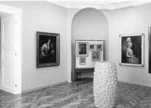 AAusstellungsansicht. Graz, Neue Galerie 1991