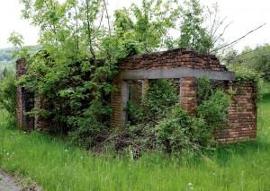 Ruine des Wachpostenhauses, Aflenz an der Sulm Steiermark 2008
