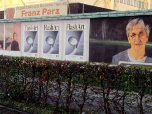 Plakatwand, Graz, Conrad-von-Hötzendorfstrasse 1999