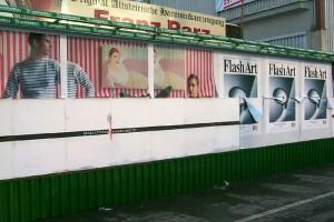 Plakate und Teaser, Graz, Conrad-von-Hötzendorf-Straße 1999