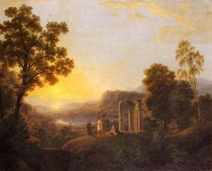 Johann Kniep, Ideale Landschaft, 1806