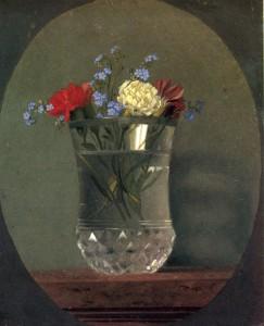 Johann Peter Krafft, Wasserglas mit Blumen, 1812