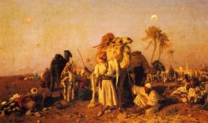 Carl Leopold Müller, Die Karawane, 1876