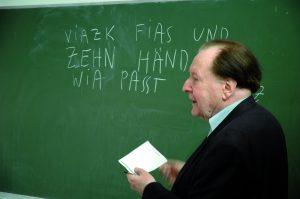 Gerhard Rühm, 4. Juli - 7.Oktober 2011, Graz, Akademisches Gymnasium 2011
