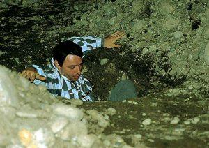 Marcel Biefer / Beat Zgraggen, Vertikale Evakuierung. KUNST HEIMAT KUNST, Baden bei Zürich, Grabenwiese 1992