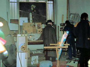 Frank Castelyns, Depot XII. KUNST HEIMAT KUNST, Antwerpen, Jordaenskaai 12 1992 - 1993