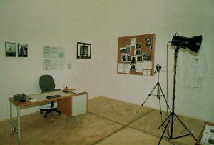 Kurt Buchwald, Amt für Wahrnehmungsstörung. KUNST HEIMAT KUNST, Schlußpräsentation, Graz, Künstlerhaus 1994