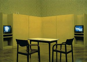 Ange Leccia, Arrangement Corsica 1992. KUNST HEIMAT KUNST, Zwischenbericht, Graz, Palais Attems 1992