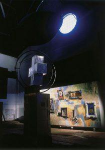 IRWIN, Transzentrale. KUNST HEIMAT KUNST. Ljubljana, E-Werk 1993