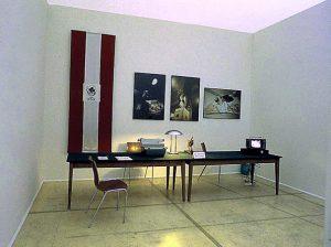 IRWIN, Transzentrale - Paßbüro. KUNST HEIMAT KUNST. Graz Künstlerhaus 1994