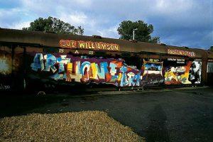 Sue Williamson, Willie Bester, Andrew Putter, Moving on. KUNST HEIMAT KUNST, Kapstadt / Grahamstown, Bahnhof 1994