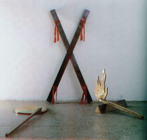 Hartmut Skerbisch, Die X Stelle, Rosenheim Kunsthalle Rosenheim 1986