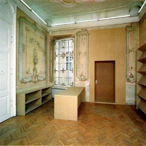 Heimo Zobernig, Erster bis einundzwanzigster März 1993, Kasse, Graz Neue Galerie 1993