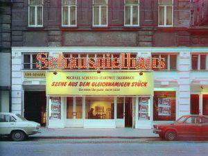Hartmut Skerbisch, Szene aus dem gleichnamigen Stück, Wien 1981