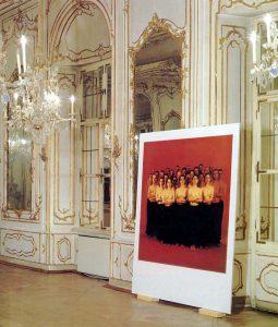 Matta Wagnest, Aus: Tout le monde (totalitaire). KRIEG. Graz 1993