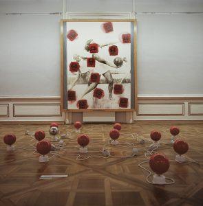 Horáková & Maurer, Leichtes Gleiten und Rollen, Graz, Neue Galerie 1988