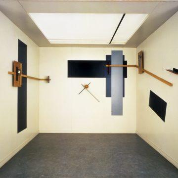 El Lissitzky, Prounenraum für die Große Berliner Kunstausstellung, Berlin 1923