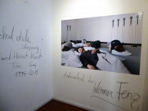 Matta Wagnest, Wachted while sleeping. Kunst-Heimat-Kunst, Graz, Kulturzentrum bei den Minoriten, 2016
