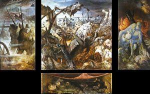 Otto Dix, Der Krieg, 1929 - 1932, Dresden Staatliche Kunstsammlungen