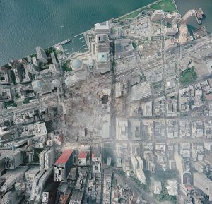 WTC Groundzero 2001, By NOAA [Public domain], via Wikimedia Commons