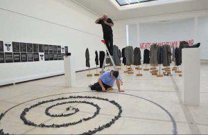 Ausstellungsansicht, real presence,, Graz, Künstlerhaus 2009