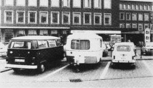 Michael Asher, Caravan, Skulptur Projekte, Münster 1977/87/97