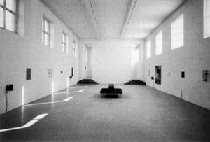 Andrea Fraser, Eine Gesellschaft des Geschmacks, München, Kunstverein 1991