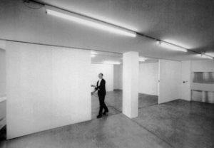 Gerald Rockenschaub, Installation, EA-Generali-Foundation, Wien 1991