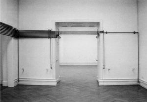 Michael Asher, Installation, Bern, Kunsthalle 1992