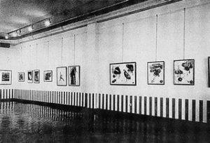 Daniel Buren, Position - Proposition, Mönchengladbach, Städtisches Museum 1971
