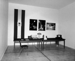 IRWIN, Transzentrale - Paßbüro. KUNST HEIMAT KUNST. Schlußpräsentation, Graz, Künstlerhaus 1994