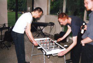 "Hanspeter Zechner, ""DERBY"", ""STURM. ECHO."" im Forum Stadtpark, Graz 1998"