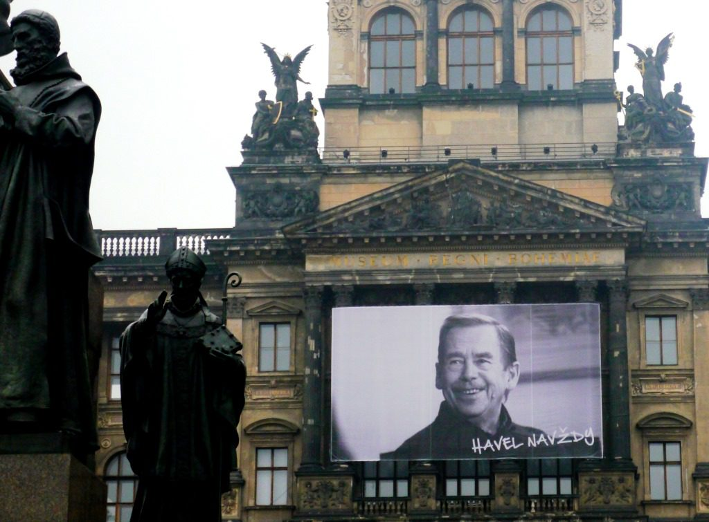 Národní Muzeum, Praha 2015, HavelNavždy (Havel for ever)
