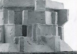 Josef Pillhofer, Entwurf für Ehrengräber, Detail, 1972