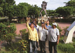 RHIZOM, Consuelo Mora Bernard, Roberto Guilém, desde aqui, Chinandega, Nicaragua 2010