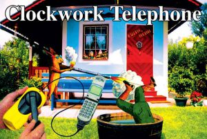 Marjetica Potrč, Clockwork Telephone, St. Peter Hauptstzraße 29-35, Terassenhasusiedlung SIGHT.SEEING, Graz 2003