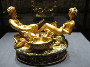Benvenuto Cellini, Saliera, 1540–1543, Kunsthistorisches Museum Wien