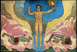 Kolo Moser, Das Licht, um 1913/15, Privatbesitz Wien