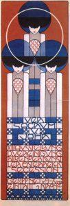 Kolo Moser, Plakat zur XIII, Secessions-Ausstellung, 1902