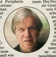 Werner Fenz, Kronenzeitung, Donnerstag, 15. März 2001, Seite 12