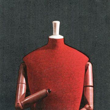 Vorsatzpapier, Katalog trigon 75, Graz 1975