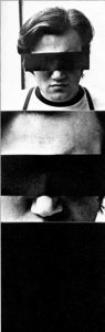 Peter Weibel, Selbstporträt als Anonymus, 1967