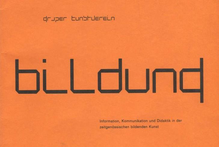 Dorit Magreiter Katalogumschlag, Bildung, Grazer Kunstverein, steirischer herbst 99, 1999, Ausschnitt