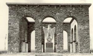 Rudolf Hofer, Hans Adametz, Anschlußdenkmal Oberschützen, 1939