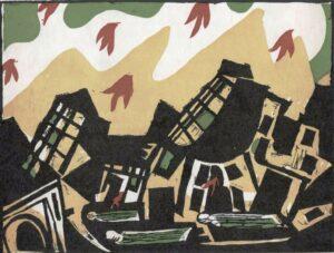 Axl Leskoschek, Illustration zu Lusiadas des Camoes, 1942