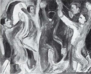 Rudolf Pointner, Die tanzenden Juden, in: Plan, Heft 1, 1938