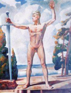 Karl Mader, Das Deutsche Schwert 1940
